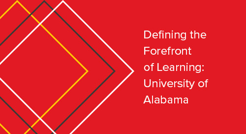 Defining the Forefront of Learning: University of Alabama - Case Study