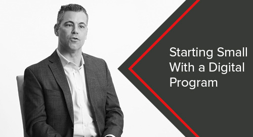 Starting Small with a Digital Program