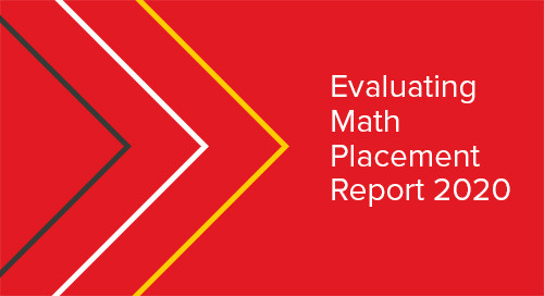 Evaluating Math Placement Report 2020