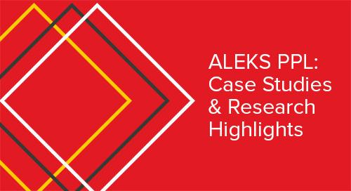 ALEKS PPL Case Study Brochure