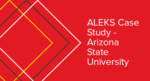 Arizona State University ALEKS Adaptive Case Study
