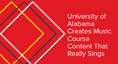 University of Alabama Creates Music Course Content That Really Sings