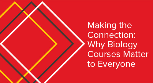 Making the Connection: Why Biology Courses matter to Everyone