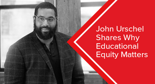 John Urschel Shares Why Educational Equity Matters