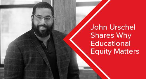 John Urschel Shares Why Educational Equity Matters