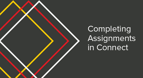 Completing Assignments in Connect