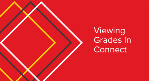 Viewing Grades in Connect