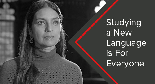 Studying a New Language is For Everyone