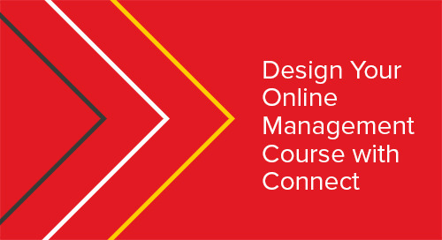 Design Your Online Managing Course with Connect