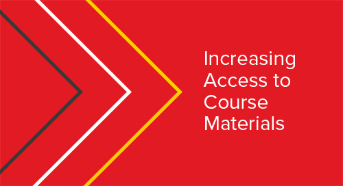 Increasing Access to Course Materials
