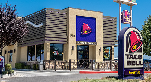 Taco Bell Redesigns Its Restaurants, Expands Mobile Ordering | August 2021