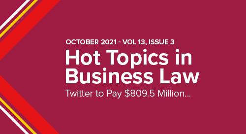 Twitter to Pay $809.5 Million to Settle Shareholder Lawsuit | October 2021