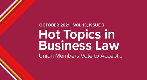 Union Members Vote to Accept New Mondelez Contract | October 2021