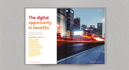 The Digital Opportunity: Re-imagining the employee experience in benefits