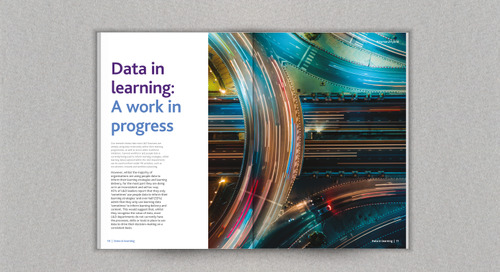 How data can transform learning to deliver future skills