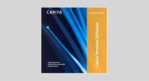 An introduction to Capita Pensions Software