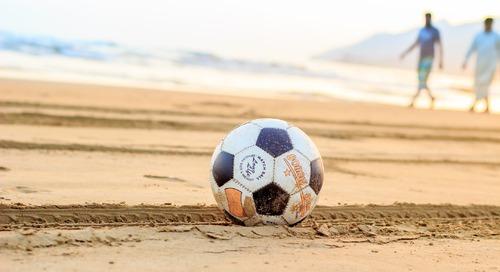 Le pouvoir d'un ballon de soccer