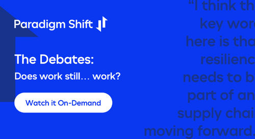 Paradigm Shift Debate 3: Does work still... work?