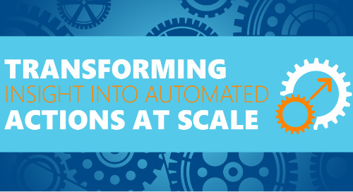 Infographic: Transforming Insight Into Automated Action at Scale