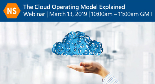 The Cloud Operating Model Explained