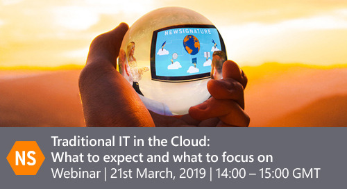 Traditional IT in the Cloud