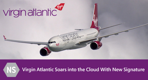 Virgin Atlantic Soars into the Cloud With New Signature