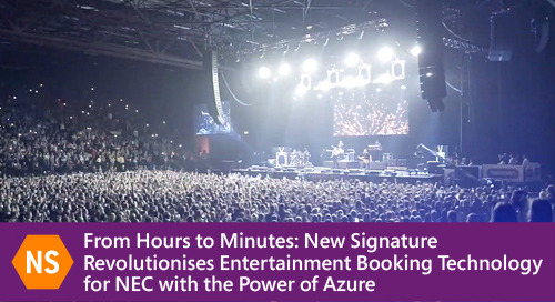 From Hours to Minutes: New Signature Revolutionises Booking Technology for NEC