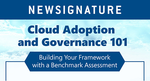 Cloud Adoption and Governance 101