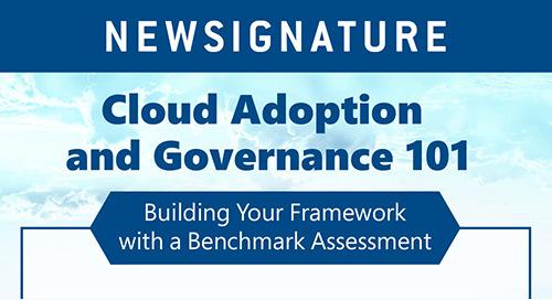 Cloud Adoption and Governance 101