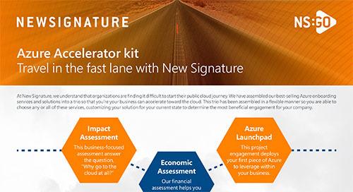 NS: GO - Azure Accelerator Kit Flyer