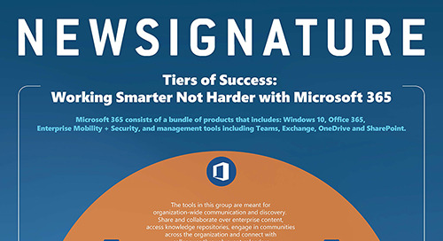 Tiers of Success: Working Smarter Not Harder with Microsoft 365