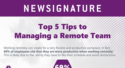 Top 5 Tips to Managing A Remote Team
