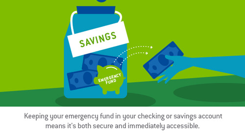 How much money should you keep in your checking and savings account?
