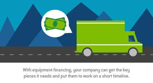 When is it time to turn to equipment financing for your trucking business?