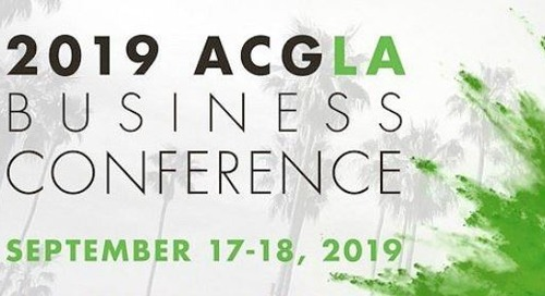 ACG Los Angeles Business Conference Sep 17-18, 2019