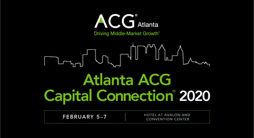 Atlanta ACG Capital Connection Feb 5-7, 2020