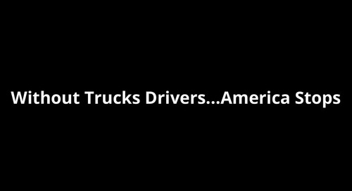 Thank You Truckers!