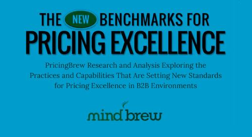 The New Benchmarks for Pricing Excellence