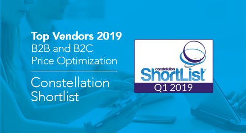 Constellation Names the Top B2B and B2C Price Optimization Vendors of 2019