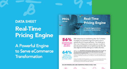 Real-Time Pricing Engine Data Sheet