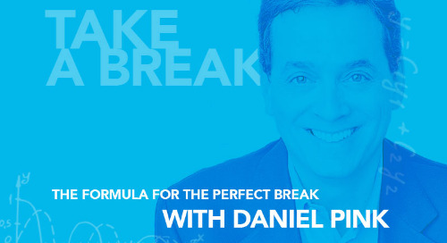 The Formula for a Perfect Break: An Interview with Daniel Pink