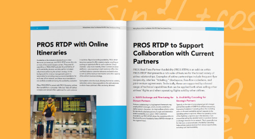 Making Partner Airlines True Retailers with PROS Real-Time Dynamic Pricing