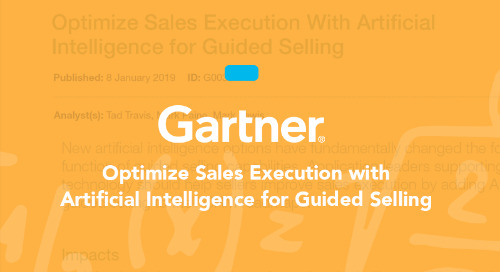 Optimize Sales Execution with AI for Guided Selling