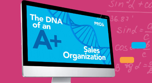 The DNA of Today's A+ Sales Organization