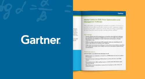 Gartner's Market Guide for B2B Pricing Software