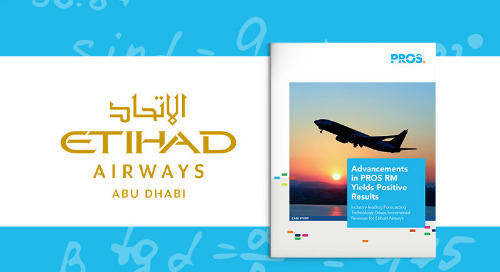 Etihad Yields Positive Results with PROS RM