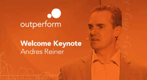 Welcome Keynote by Andres Reiner