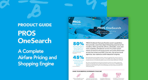 PROS OneSearch Product Guide