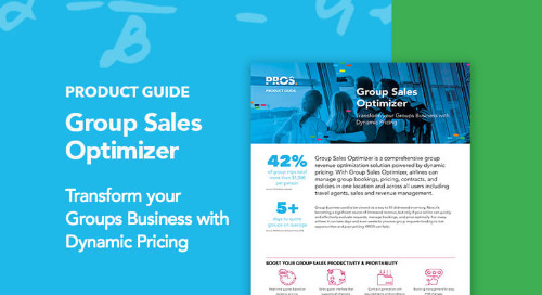 Group Sales Optimizer Product Guide