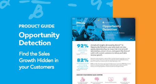 Opportunity Detection Product Guide